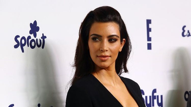 La star américaine de la téléréalité Kim Kardashian