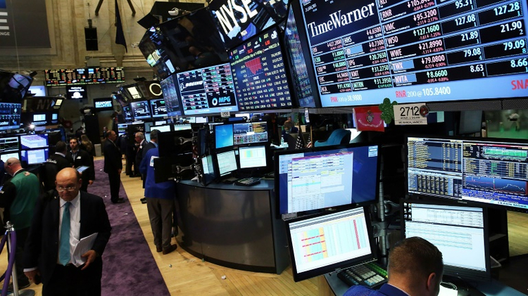 Minutes into trade, the Dow Jones Industrial Average and S&P 500 were both down nearly 1.0 percent and the tech-heavy Nasdaq Composite lost 1.4 percent