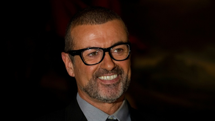British singer George Michael attending a press conference at the Royal Opera House, central London in 2011