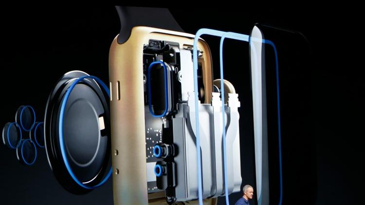 New Apple smartwatch is waterproof