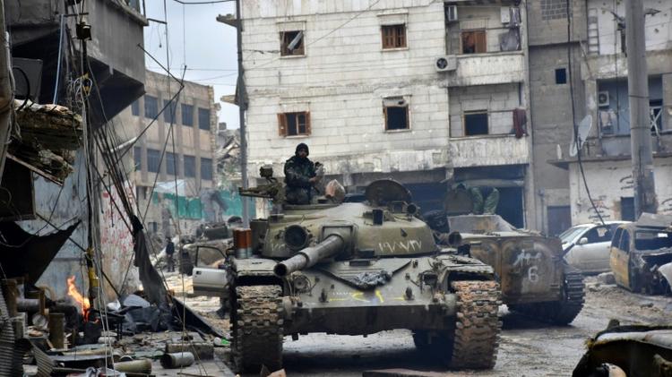 Début de l'opération d'évacuation — Alep