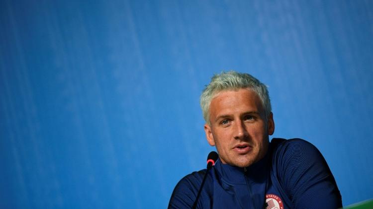Le nageur américain Ryan Lochte