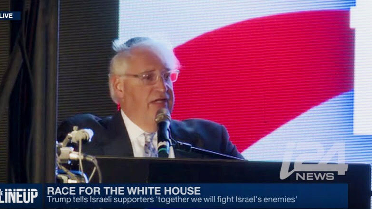Trump's ambassador pick is well-known figure in West Bank