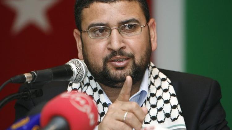 Hamas' spokesman Sami Abu Zuhri