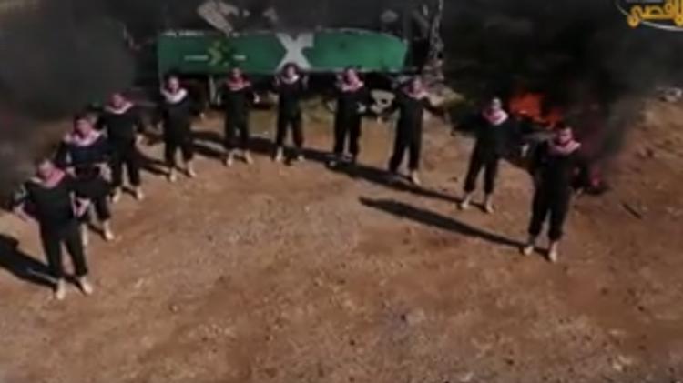 Vidéo du Hamas publiée sur internet dimanche 7 février 2016