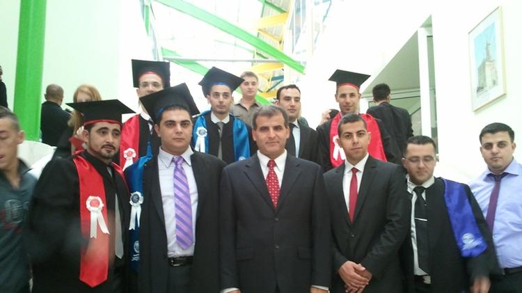 Medical school graduates from Israeli Arab village of Arraba