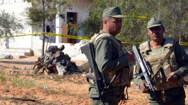 Des soldats tunisiens près de Ben Guerdane