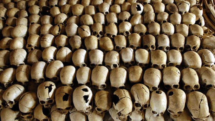 Des milliers de Tutsis réfugiés dans une église de l'est du pays avaient été massacrés en 1994