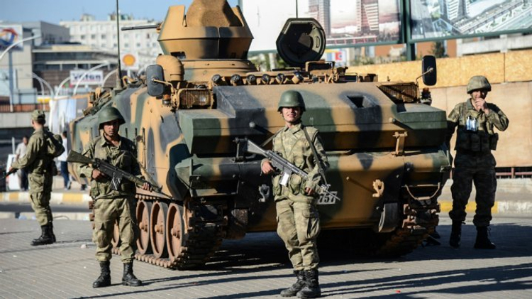 USA general denies link to Turkey's military coup