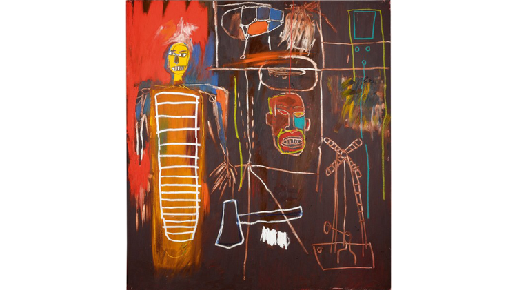 Air Power de Jean-Michel Basquiat, 1984