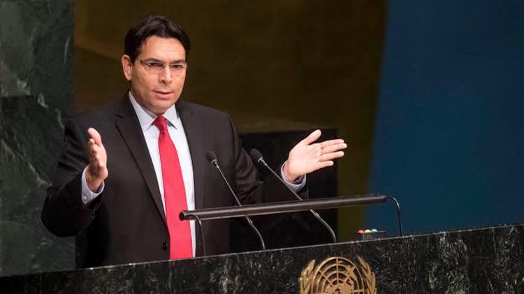 L'ambassadeur israélien à l'ONU, Danny Danon