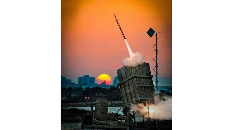 The Iron Dome missile defense system, Israel