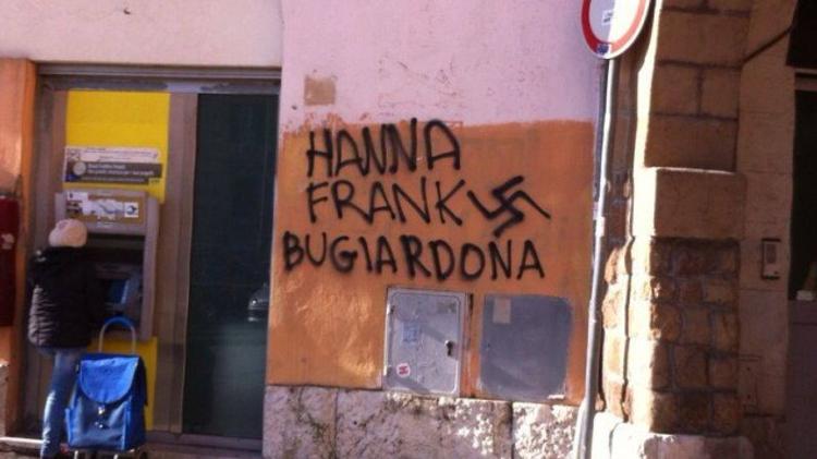 Actes antisémites à Rome, Italie