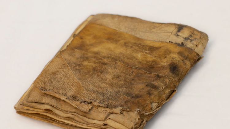 The manuscript purported to be the world's oldest prayer book