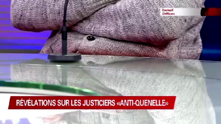 Activiste anti-quenelle sur le plateau d'i24news
