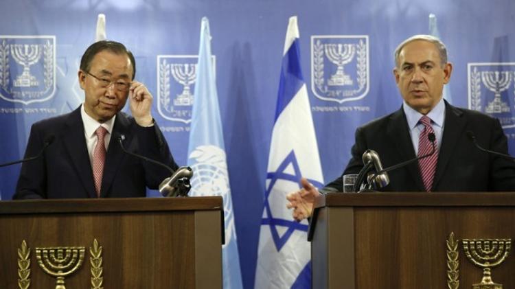 Ban Ki-moon & Netanyahou