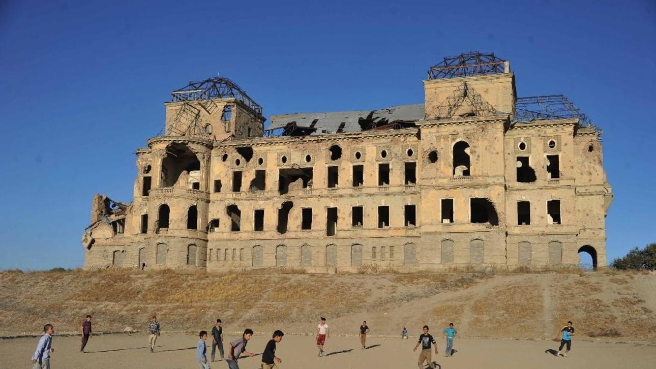 Restoration starts at Kabul's war-battered palace