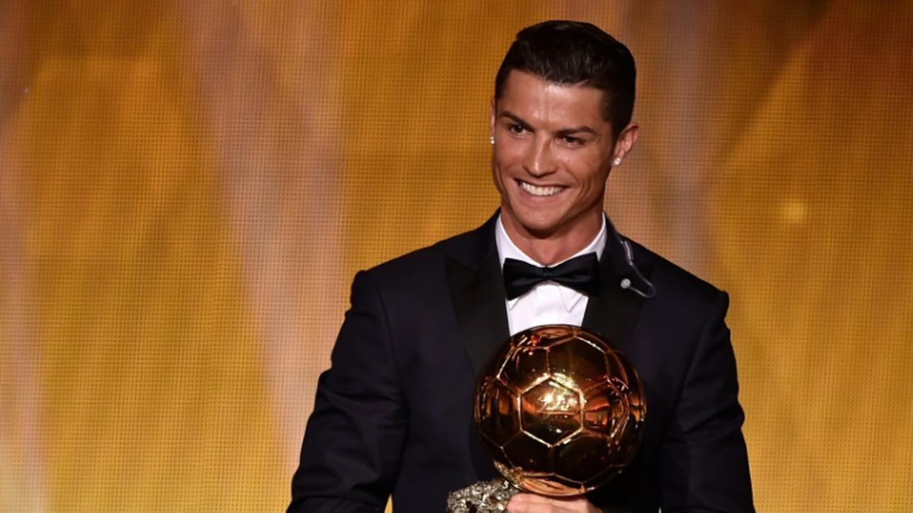 Ronaldo caps dream year with fourth Ballon d'Or