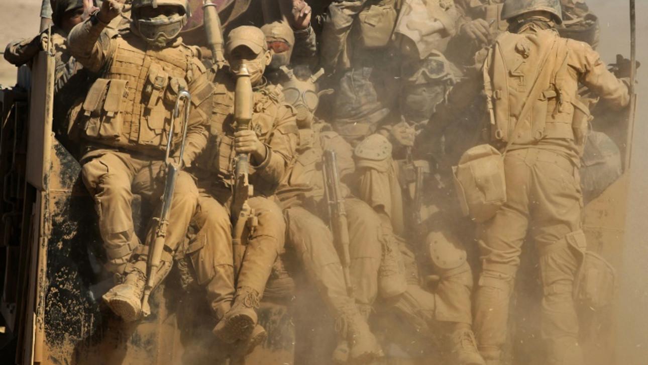 Iraqi forces push towards Mosul