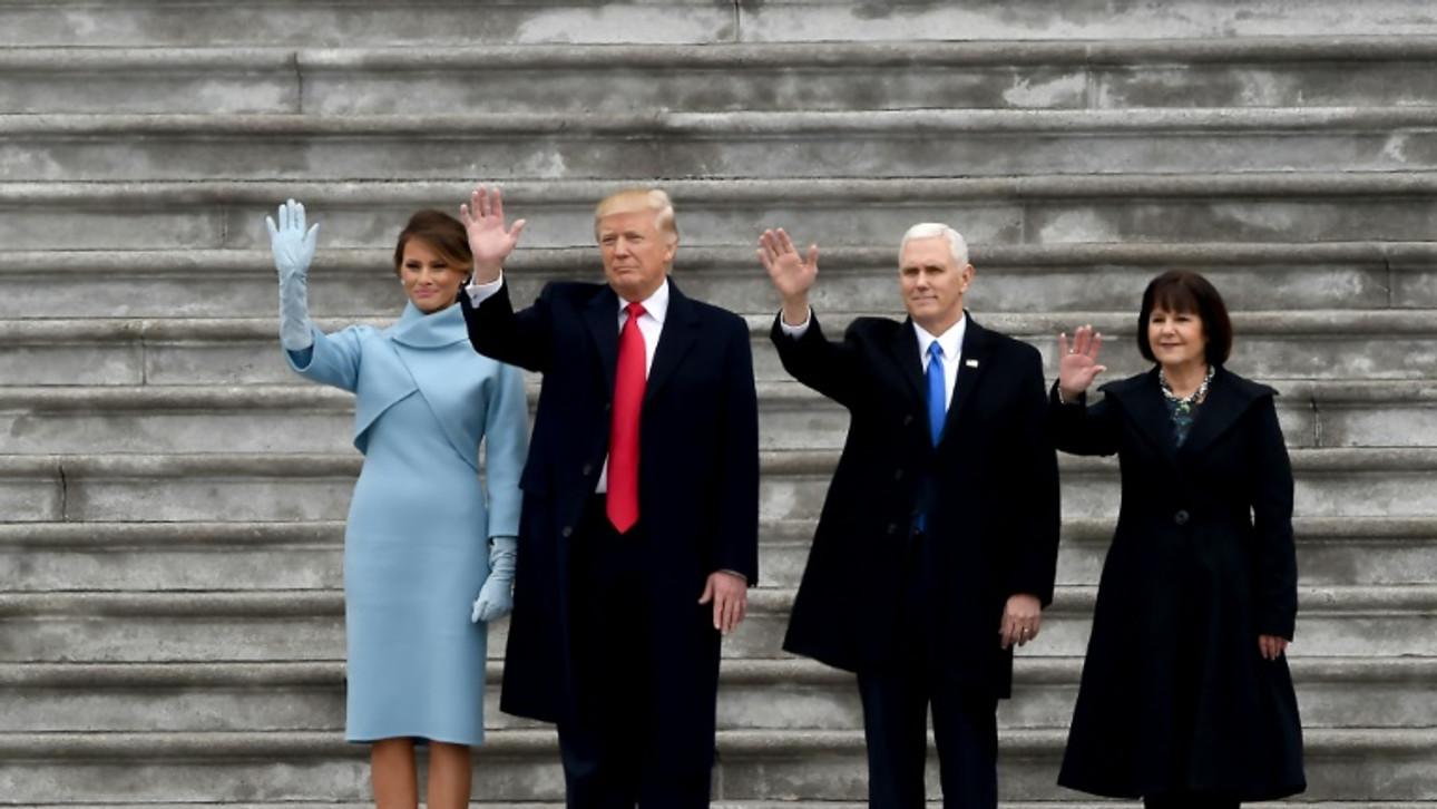 Donald Trump sworn in as 45th US president