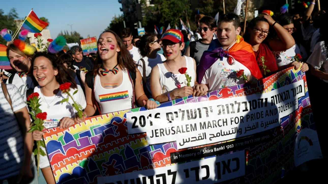 Record 25,000 people attend Jerusalem Pride March