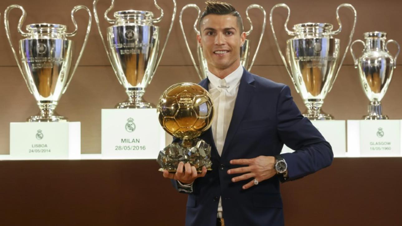 4e ballon d'or pour la star du Real Madrid Cristiano Ronaldo