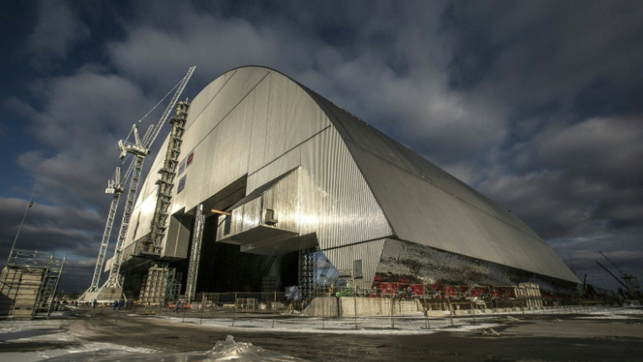 Ukraine moves new safety dome over Chernobyl's doomed reactor