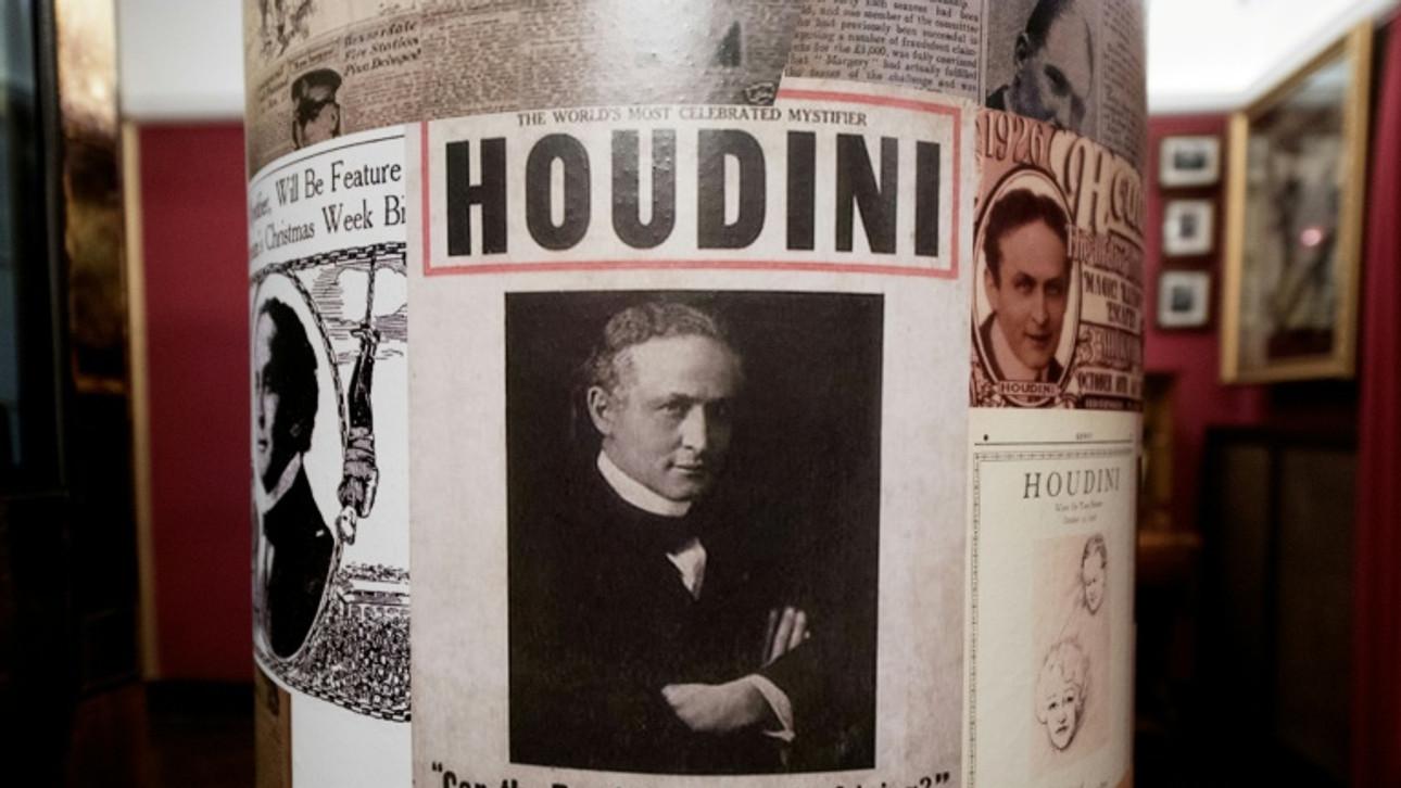'Handcuff king' Houdini's secrets unlocked in Hungary