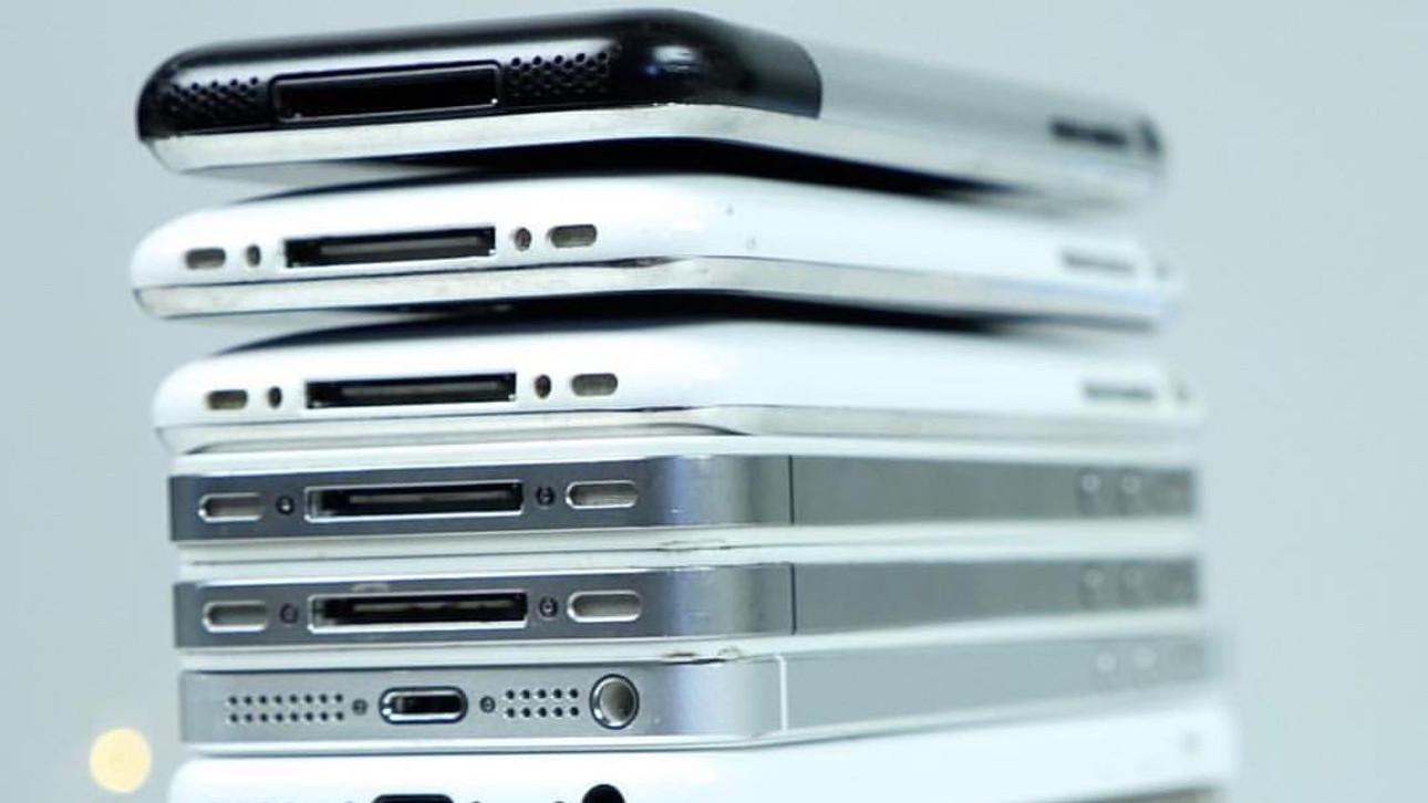 10 ans d'évolution de l'iPhone en images
