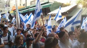 Jerusalem Day parade proceeds with relative calm under high security