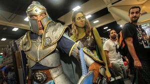 Super heroes, Trekkies and storm troopers arrive in San Diego for Comic-con