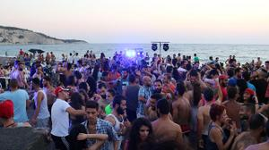 A glimmer of normal life on the beaches of Syria's Latakia