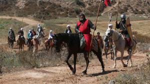 Crusaders return to the Holy Land as Israelis re-enact the battle of Hattin