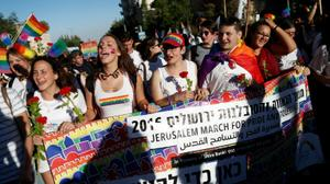 Record 25,000 people attend Jerusalem Pride March