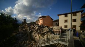 Magnitude 6.2 quake reduces Italian mountain towns to rubble