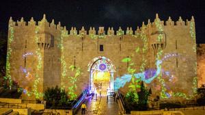 Le Festival des lumières illumine Jérusalem