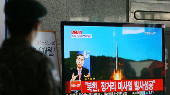 N. Korea triggers fresh fury with space rocket launch