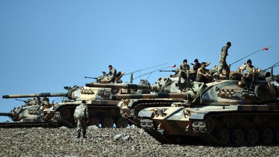 Turkish military hits Kurdish PYD, regime in Syria: state media