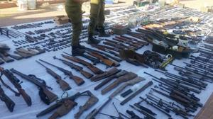 Israeli security forces seize weapons in raids on West Bank workshops