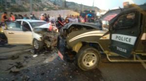 Three Israeli police injured in suspected car ramming in West Bank