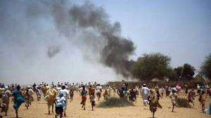 """الأمم المتحدة: آلاف المدنيين الفارين من دارفور يواجهون ظروفا """"مزرية"""""""