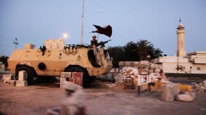 إصابة تسعة شرطيين في تفجير عبوة ناسفة شمال سيناء