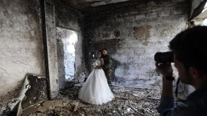 On Valentine's Day, Syrian lovers torn apart by war