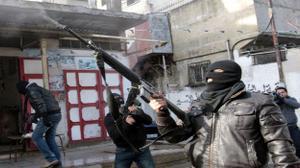 نابلس: مقتل سيدة في مواجهات عنيفة بين الامن الفلسطيني ومسلحين