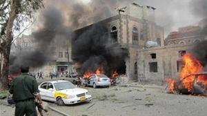 ارتفاع عدد قتلى التفجير الانتحاري في مدينة عدن الى 60 قتيلا