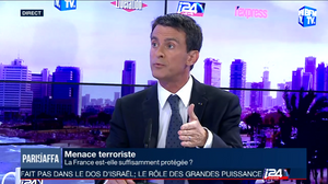 i24news exclusive: Valls says French initiative does not undermine Israel