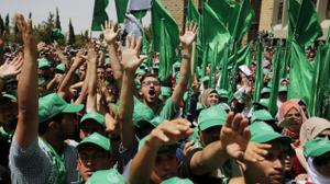Hamas calls for 'day of rage' Friday to mark year since start of terror wave