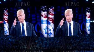 Republican office denies report of Jerusalem Trump rally downsizing