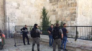 31 Palestiniens qui prévoyaient de célébrer la fusillade de Jérusalem arrêtés (Shin...