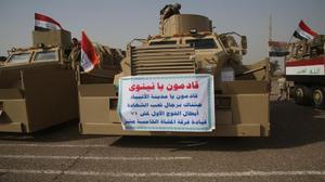 تطورات معركة استعادة الموصل سياسيا وميدانيا: العلم العراقي فوق الحمدانية